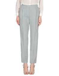 Fabiana Filippi Trousers Casual Trousers Women Sky Blue