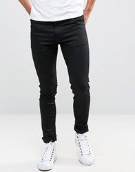 Weekday Form Super Skinny Jeans Black Black 09 090