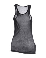Fairly Topwear Vests Women Black