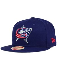 New Era Columbus Blue Jackets Classic Wool 59Fifty Cap
