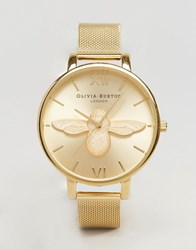 Olivia Burton Bumble Bee Gold Bracelet Watch Ob15am68 Gold