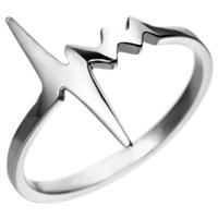 Delphine Leymarie Amour Tiny Heartbeat Ring Multi