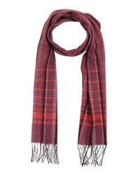 Timberland Accessories Oblong Scarves Men Red