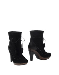 Scholl Ankle Boots Black