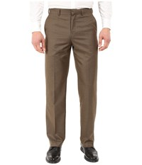 Dockers Straight Fit Performance Walnut Men's Casual Pants Brown