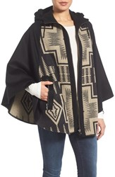Pendleton Women's Hooded Wool Cape Harding