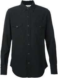 Saint Laurent Classic Denim Shirt Black