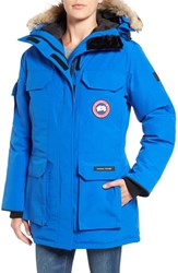 Canada Goose Women's 'Pbi Expedition' Hooded Down Parka With Genuine Coyote Fur Trim