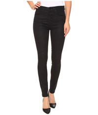 Blank Nyc High Rise Coated Skinny In All Lacquered Up All Lacquered Up Women's Jeans Black