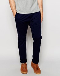 Esprit Chinos In Slim Fit Navy