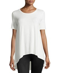 Philosophy Chiffon Back Short Sleeve Tee Fresh Lily