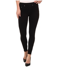 Spanx Ready To Wow Cropped Denim Leggings Black Women's Jeans