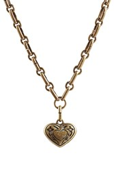 Etro Heart Necklace Gold