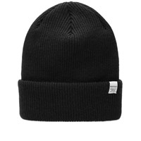 Norse Projects Top Beanie Black