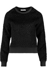 Carven Boucle Sweater Black