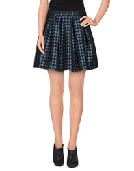 Macchia J Mini Skirts Dark Blue