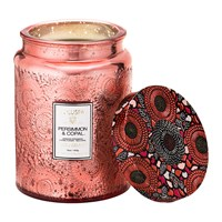 Voluspa Japonica Limited Edition Large Glass Candle Persimmon And Copal