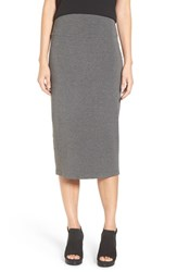 Eileen Fisher Women's Foldover Straight Midi Skirt