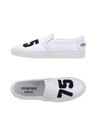 Les Art Ists X Swear Footwear Low Tops And Trainers Men White