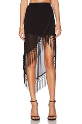 Rise Of Dawn Gypsy Dancer Tassel Skirt Black