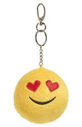 Women's Topshop 'Love' Plush Emoji Bag Charm