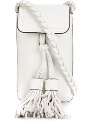 Rebecca Minkoff 'Isabel Phone' Cross Body Pouch White