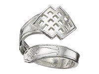 Alex And Ani Spoon Ring Silver Endless Knot Ring
