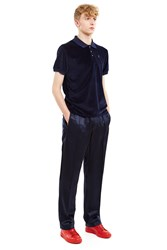 Opening Ceremony Silky Flannel Track Trouser Ink