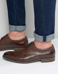 Aldo Unilidia Oxford Shoes In Brown Leather Brown