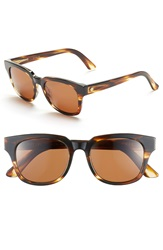 Electric Eyewear '40Five' 50Mm Sunglasses Tortoise Shell Bronze
