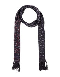 Dondup Accessories Oblong Scarves Women Dark Purple