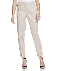 Basler Diana Twill Pants Tan
