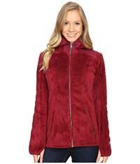 Kuhl Alto Hoodie Claret Women's Fleece Red