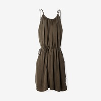 Objects Without Meaning High Neck Dress Olive