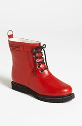 Women's Ilse Jacobsen Hornb K 'Rub' Boot Red