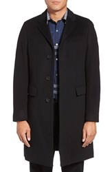 Burberry Men's Brit Hawksley Tailored Wool And Cashmere Single Breasted Coat