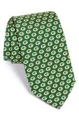 Vineyard Vines Men's 'Green Bay Packers Nfl' Woven Silk Tie