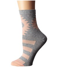 Stance Anyaviolet Grey Women's Crew Cut Socks Shoes Gray