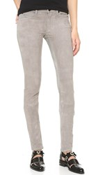 Superfine Flash Friend Suede Pants Mid Grey