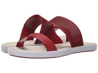 Lacoste Natoy Slide Dark Red Women's Slide Shoes