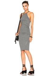Pam And Gela Tank Dress In Gray