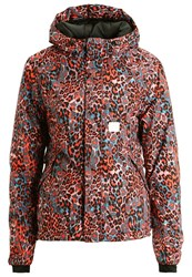 Chiemsee Olina Ski Jacket Leo Flow Multicoloured