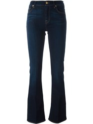 7 For All Mankind 'The Classic' Bootcut Jeans Blue