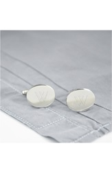 Cathys Concepts Personalized Oval Cuff Links W