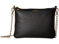 Lodis Borrego Emily Clutch Crossbody Black Cross Body Handbags