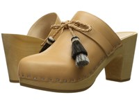 Loeffler Randall Hadley Natural Vachetta Black Natural Horse Hair