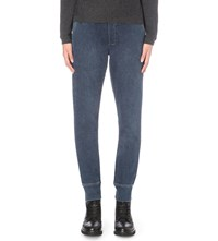 The Kooples Tapered Mid Rise Jeans Blue Used