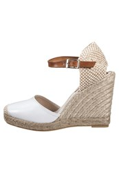 Mintandberry Wedge Sandals White