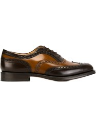 Church's Two Tone Brogues Brown