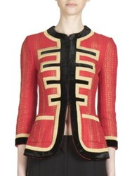 Givenchy Military Three Quarter Sleeve Jacket